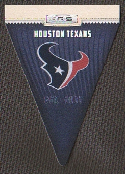 2012 Panini Rookies and Stars NFL Team Pennant #13 Houston Texans