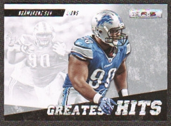2012 Panini Rookies and Stars Longevity Greatest Hits #7 Ndamukong Suh