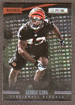 2012 Panini Rookies and Stars Longevity Parallel #175 George Iloka /249