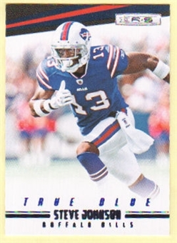 2012 Panini Rookies and Stars True Blue #18 Steve Johnson