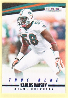 2012 Panini Rookies and Stars True Blue #75 Karlos Dansby