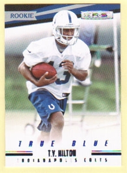 2012 Panini Rookies and Stars True Blue #215 T.Y. Hilton