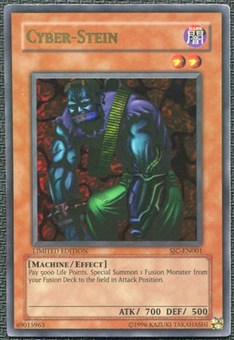 Yu-Gi-Oh Shonen Jump Championship Series Promos 2004 Cyber-Stein Ultra Rare UNPLAYED