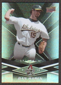 2009 Upper Deck Spectrum Black #4 Dan Haren /50