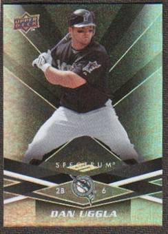 2009 Upper Deck Spectrum Black #39 Dan Uggla /50