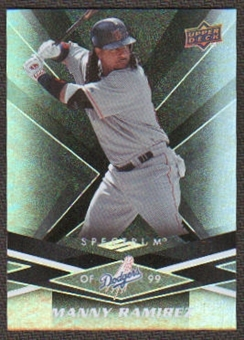 2009 Upper Deck Spectrum Black #50 Manny Ramirez /50