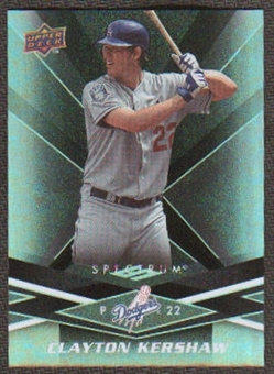 2009 Upper Deck Spectrum Black #53 Clayton Kershaw /50
