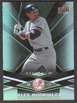 2009 Upper Deck Spectrum Black #64 Alex Rodriguez /50