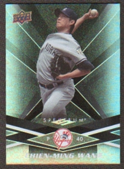 2009 Upper Deck Spectrum Black #66 Chien-Ming Wang /50