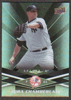 2009 Upper Deck Spectrum Black #68 Joba Chamberlain /50