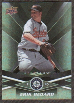 2009 Upper Deck Spectrum Black #86 Erik Bedard /50