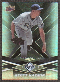 2009 Upper Deck Spectrum Black #92 Scott Kazmir /50