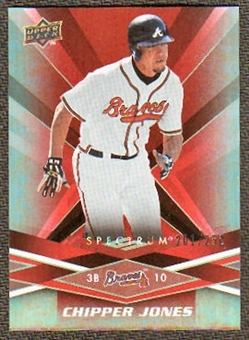 2009 Upper Deck Spectrum Red #6 Chipper Jones /250
