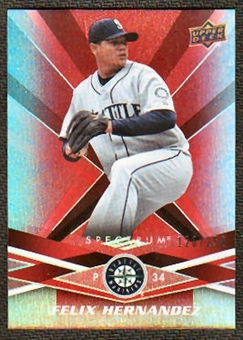 2009  Upper Deck Spectrum Red #84 Felix Hernandez /250
