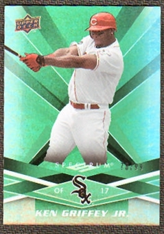 2009 Upper Deck Spectrum Green #25 Ken Griffey Jr. /99
