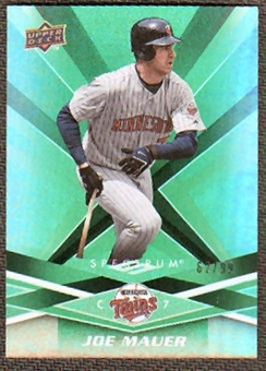 2009 Upper Deck Spectrum Green #57 Joe Mauer /99