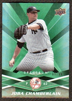 2009 Upper Deck Spectrum Green #68 Joba Chamberlain /99