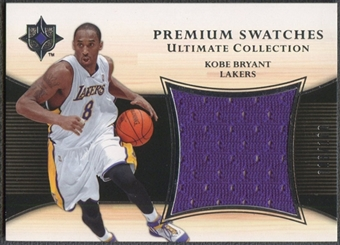 2005/06 Ultimate Collection #PSKB Kobe Bryant Premium Jersey #018/100