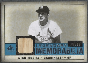2008 SP Legendary Cuts #SM Stan Musial Legendary Memorabilia Bat #68/99
