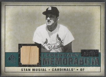 2008 SP Legendary Cuts #SM Stan Musial Legendary Memorabilia Bat #87/99