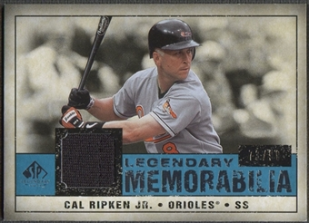 2008 SP Legendary Cuts #CR Cal Ripken Jr. Legendary Memorabilia Jersey #73/99