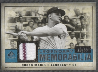 2008 SP Legendary Cuts #RM Roger Maris Legendary Memorabilia Jersey #79/99