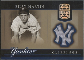 2005 Donruss Greats #3 Billy Martin Yankee Clippings Material Fielding Pants
