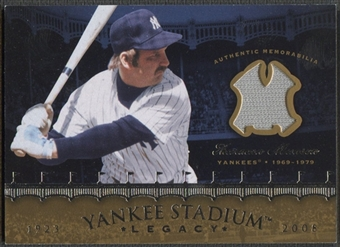 2008 Upper Deck Yankee Stadium Legacy Collection #TM Thurman Munson Memorabilia Jersey