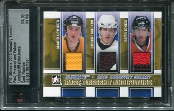 2013 ITG Ultimate Memorabilia Industry Summit Mario Lemieux Evgeni Malkin Seth Jones 9/30