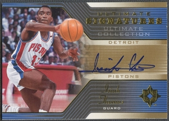 2004/05 Ultimate Collection #IT Isiah Thomas Signatures Auto