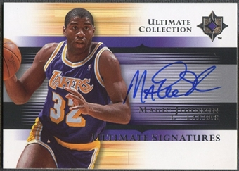2005/06 Ultimate Collection #USMA Magic Johnson Signatures Auto SP