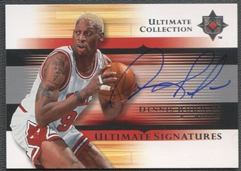 2005/06 Ultimate Collection #USDE Dennis Rodman Signatures Auto