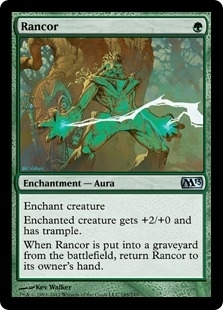 Magic the Gathering 2013 Single Rancor - NEAR MINT (NM)
