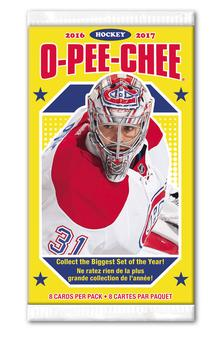 2016/17 Upper Deck O-Pee-Chee Hockey Hobby Pack