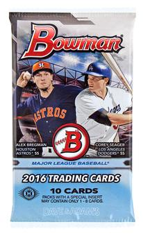 2016 Bowman Baseball Hobby Pack