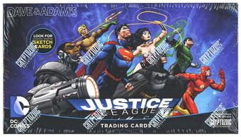 DC Comics Justice League Trading Cards Box (Cryptozoic 2016)