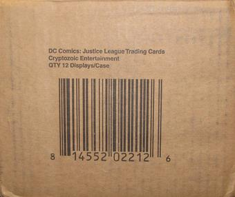 DC Comics Justice League Trading Cards 12-Box Case (Cryptozoic 2016)