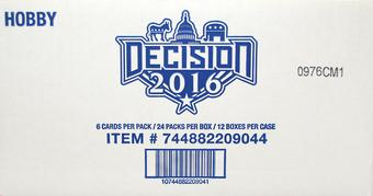 Decision 2016 Hobby 12-Box Case