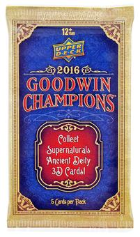 2016 Upper Deck Goodwin Champions Hobby Pack