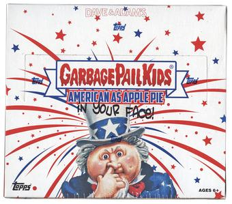 Garbage Pail Kids American As Apple Pie Hobby Box (Topps 2016)