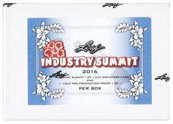 2016 Leaf Hawaii Industry Summit Box - Two 1 of 1's per Box !!!!