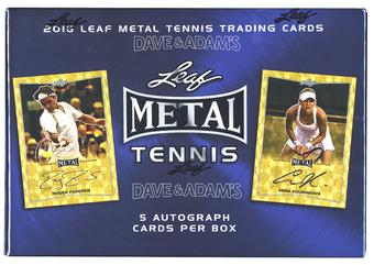 2016 Leaf Metal Tennis Hobby Box