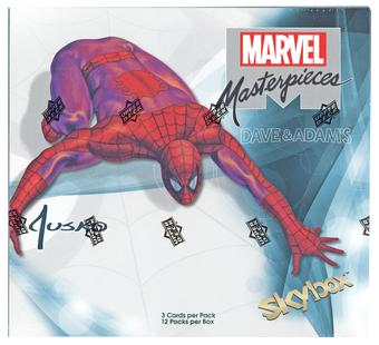 Marvel Masterpieces (featuring Joe Jusko) Hobby Box (Upper Deck 2016)