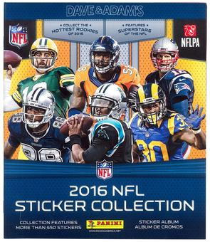 2016 Panini NFL Football Sticker Album