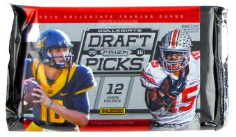 2016 Panini Prizm Collegiate Draft Picks Football Hobby Pack