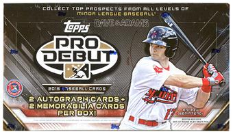 2016 Topps Pro Debut Baseball Hobby Box