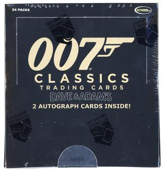 James Bond 007 Classics Trading Cards Box (Rittenhouse 2016)