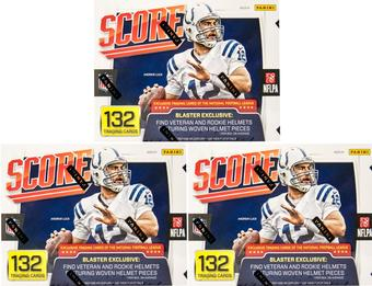 2016 Panini Score Football 11-Pack Box (Lot of 3)