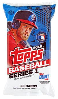 2016 Topps Series 1 Baseball Jumbo Pack