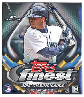 2016 Topps Finest Baseball Hobby Mini-Box